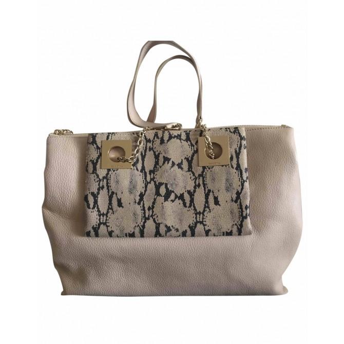 See by Chloe beige leather bag