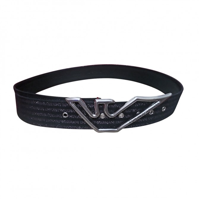 EMPORIO ARMANI LEATHER BELT