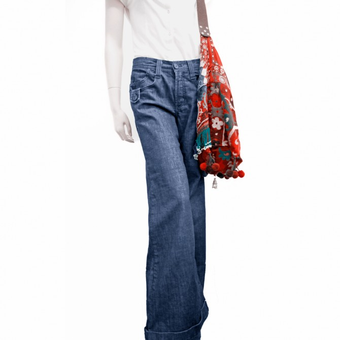 JAMES JEANS US WIDE LEG JEANS