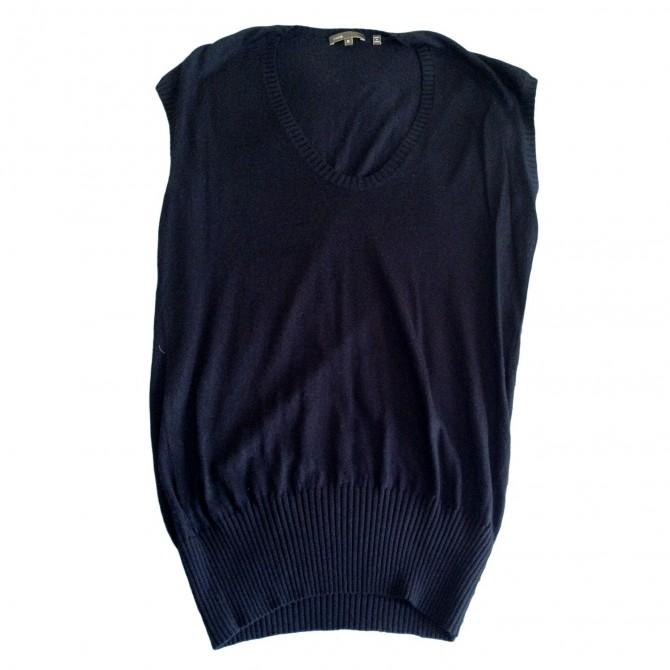 VINCE blue knitwear