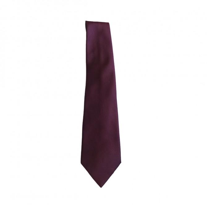 Trussardi Collection  Violet Silk tie