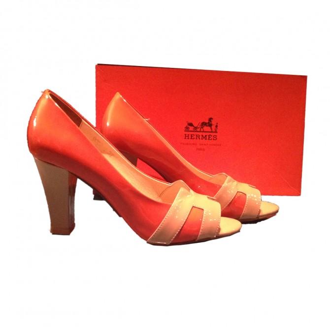 Hermes open toe size IT37