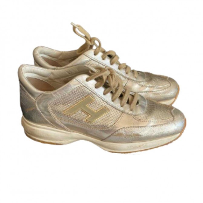 Hogan interactive leather sneakers size IT 38