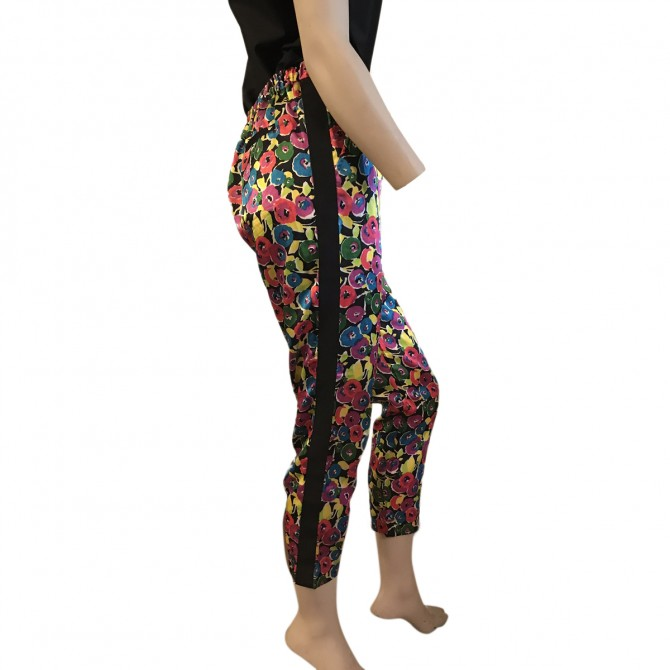 Armani Jeans Flower Print Trousers