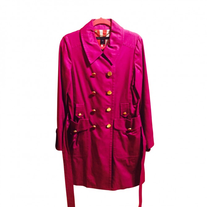 Marc by Marc Jacobs purple coat