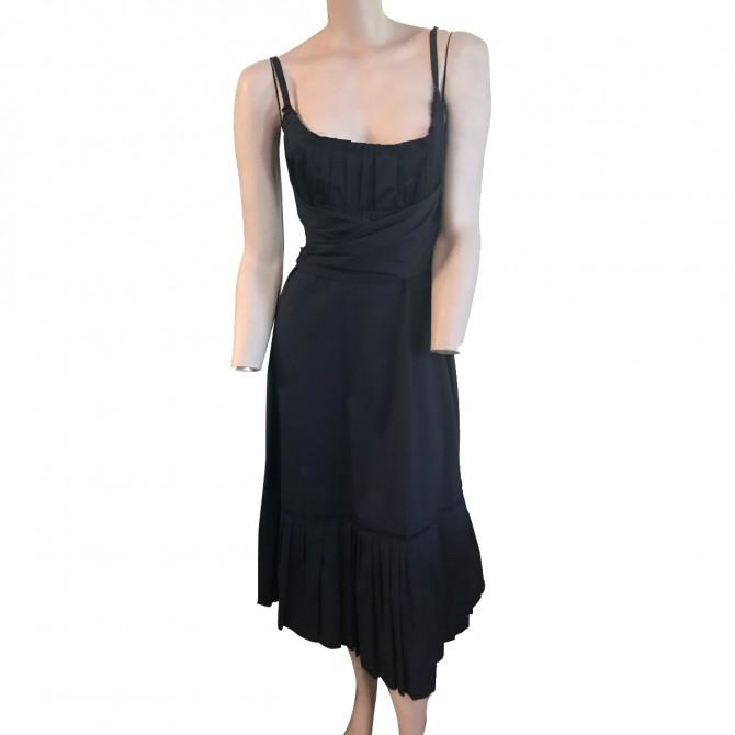 Prada Navy Blue Dress