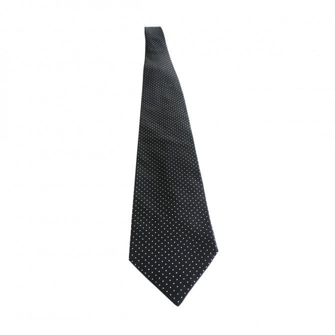 ARMANI dot print silk tie