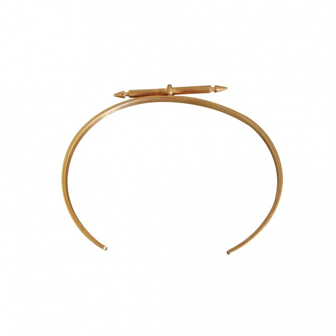 MARIA BLACK gold plated bracelet