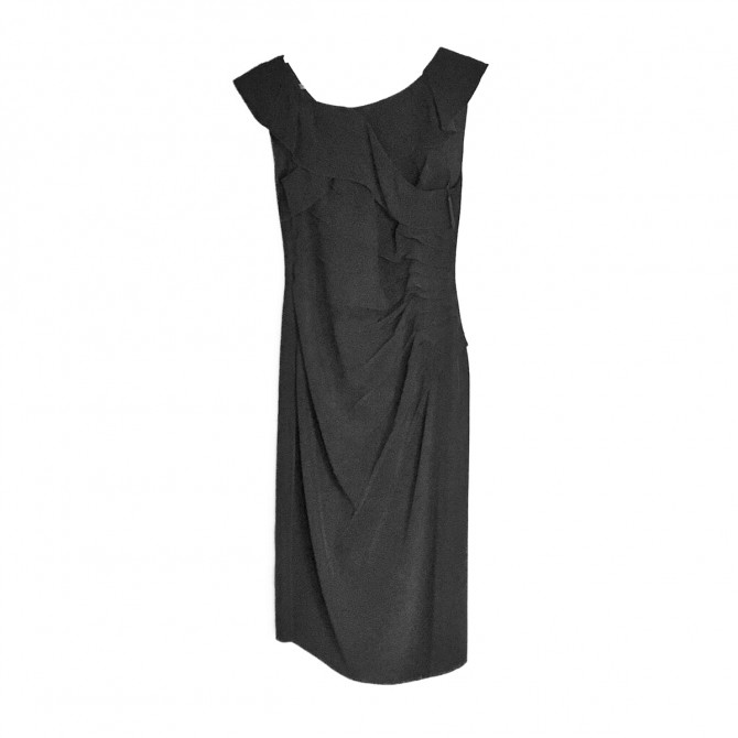 PRADA black COCTAIL DRESS
