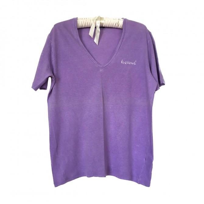 Dsquared2 purple t-shirt