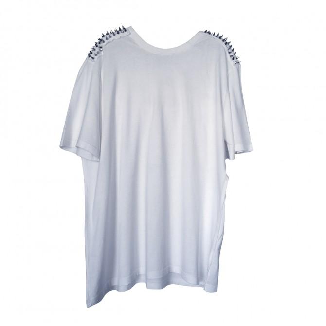 Pierre Balmain white T-shirt with studs