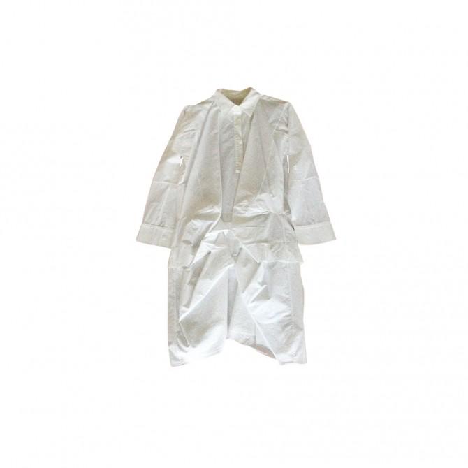 MARNI white cotton dress