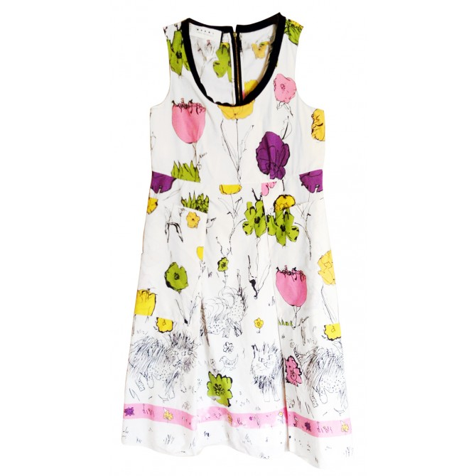 MARNI flower print dress