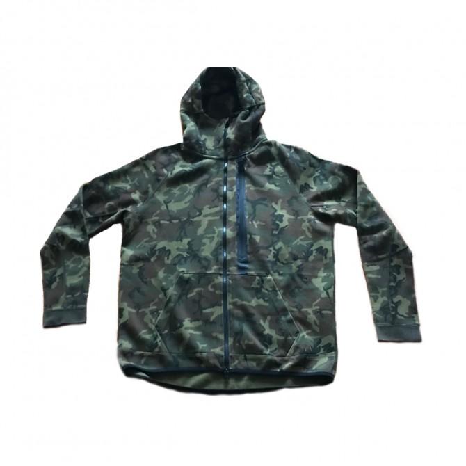 NIKE mens camo hoodie jacket