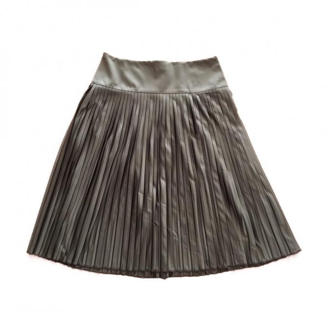 LEMAIRE X UNIQLO OLIVE GREEN SKIRT