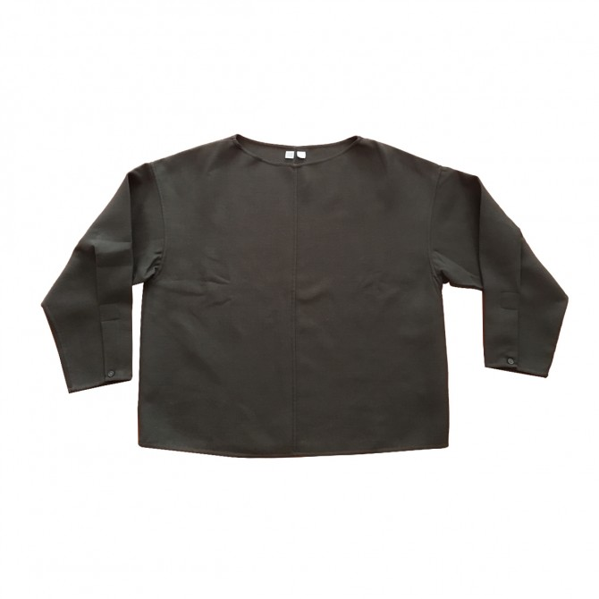 LEMAIRE X UNIQLO OLIVE GREEN TOP