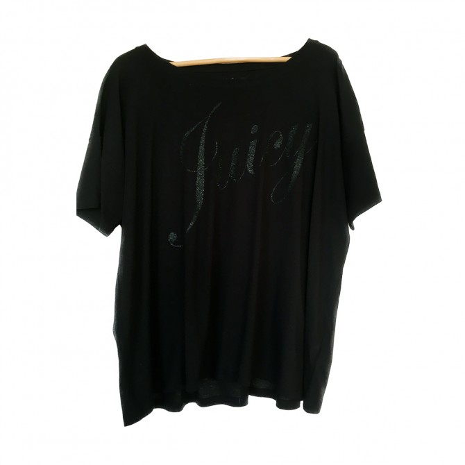 JUICY COUTURE long sleeved T-shirt with sparkling logo stamp