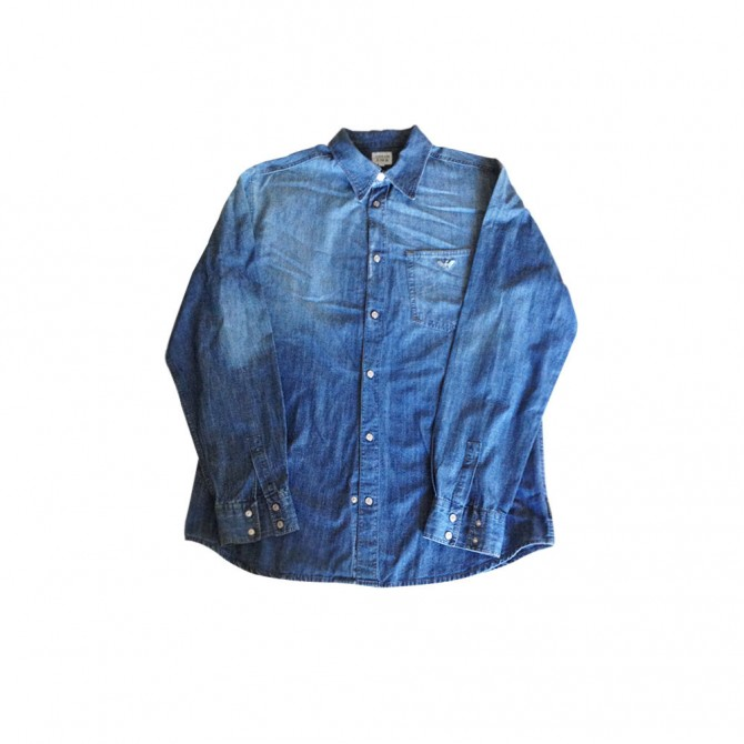 ARMANI JUNIOR denim shirt