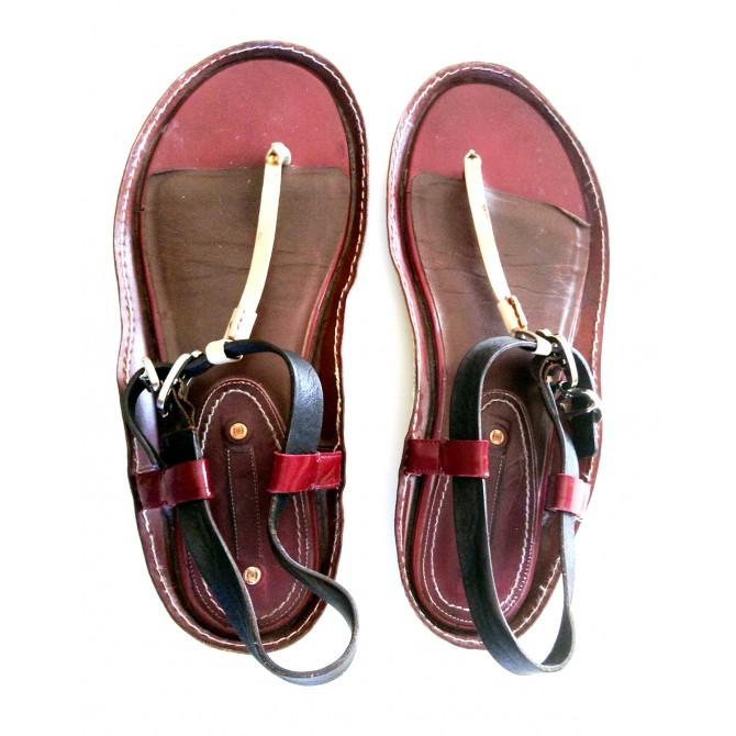 CELINE triple color sandlas