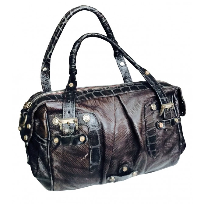 Fabulous JOHN GALLIANO Exotic High Quality Leather