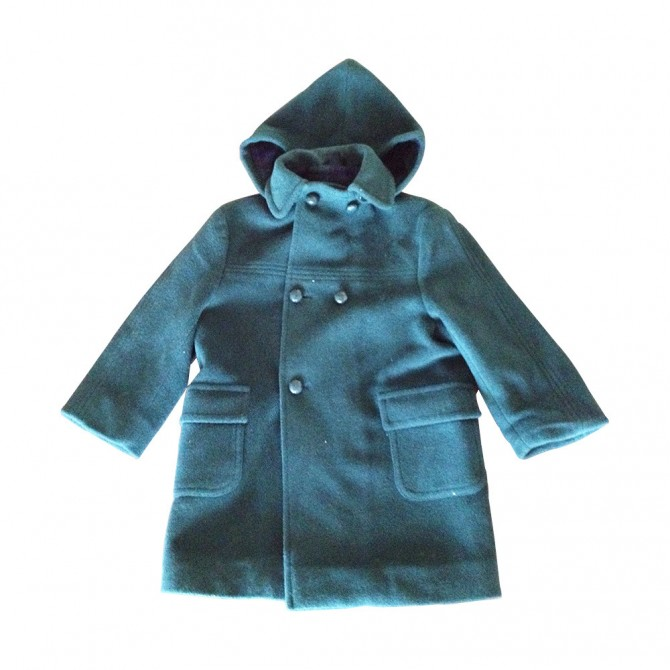 ΗΑRROLDS DARK GREEN COAT FOR BOYS