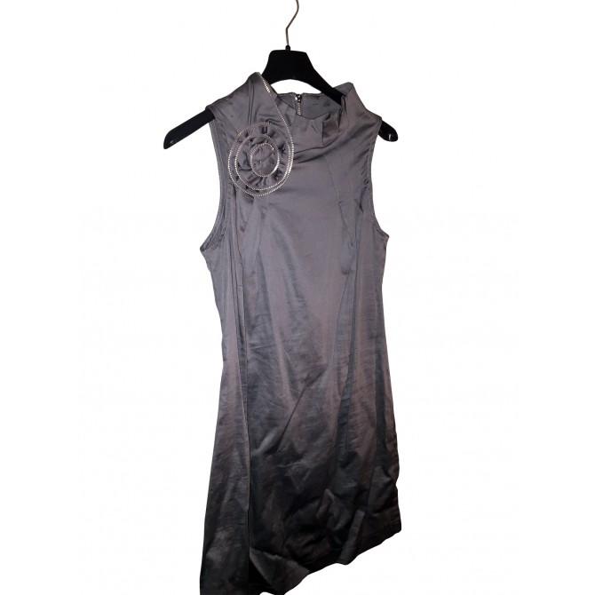 Fabulous NAF-NAF 3D Rose PATTERN on shoulder DRESS