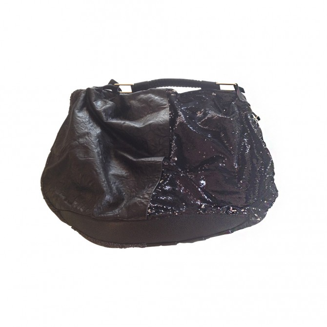 PAURIC SWEENEY black hobo bag