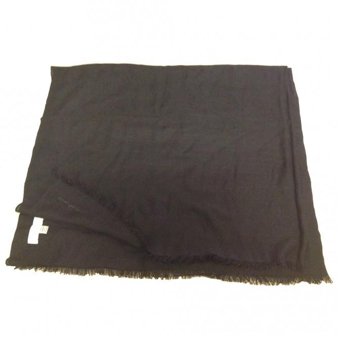 Salvatore Ferragamo black cashmere scarf