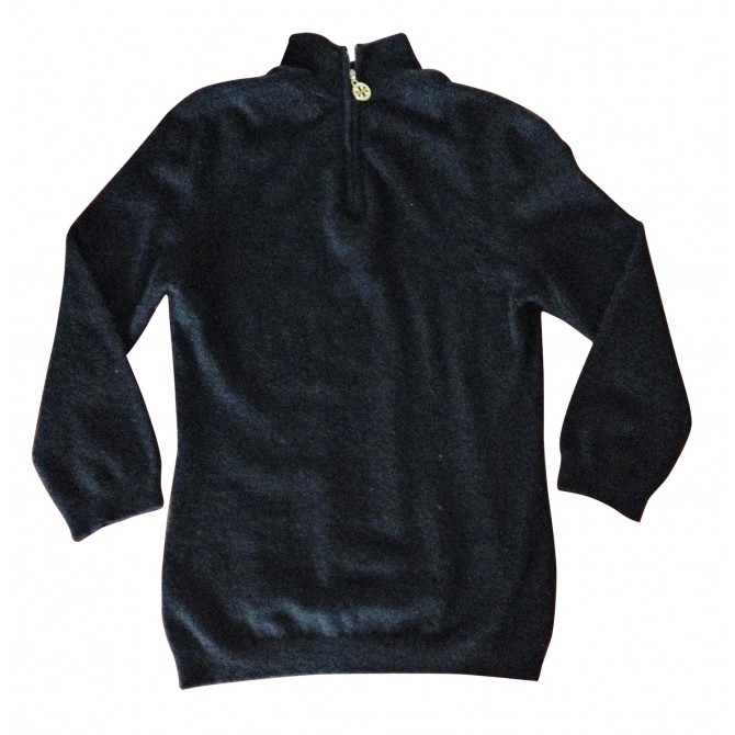 TORY BURCH black cashmere kntwear