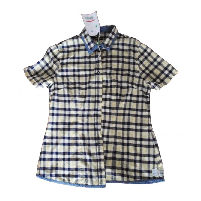 NAPAPIRJI plaid shirt for girls
