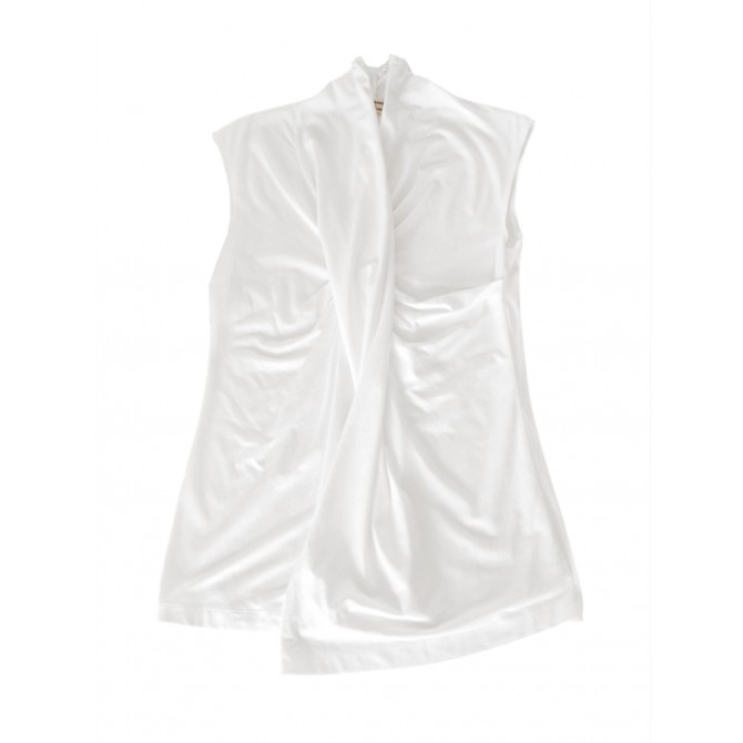 Alberta Ferretti white top