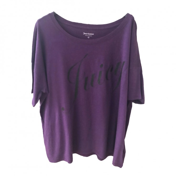 JUICY COUTURE MAUVE T-SHIRT