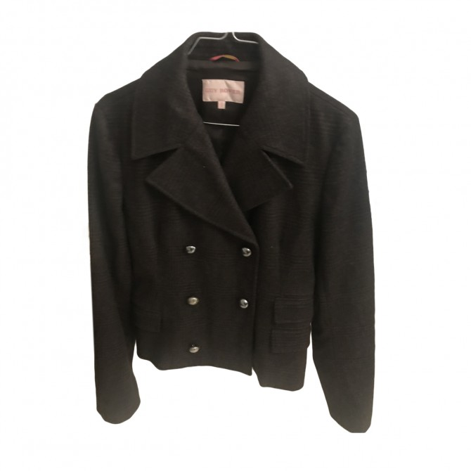 GUY ROVER double breasted wool jacket