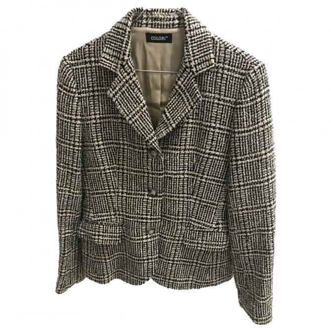 COLORI Greece tweed style blazer