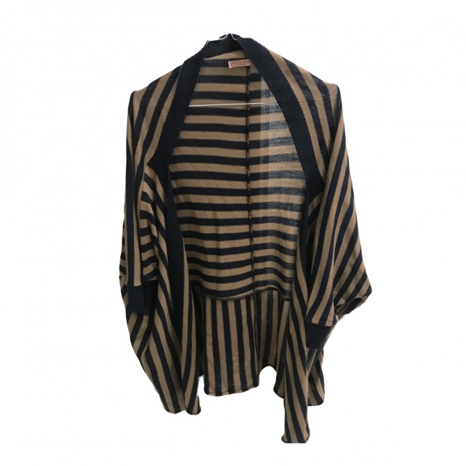 MILK & HONEY LONDON assymetrical cut cardigan size L
