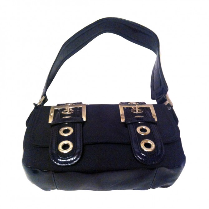 Versus by Versace black leather bag