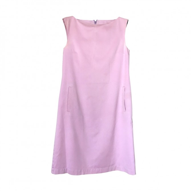 MAX MARA lilac cotton dress