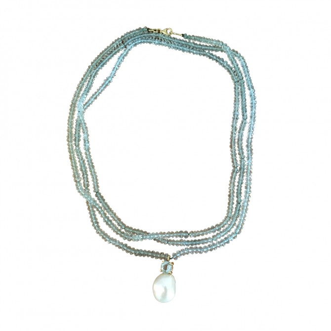 DOLLY BOUCOGIANNIS turmaline necklace