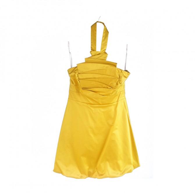Karen Millen yellow party  dress