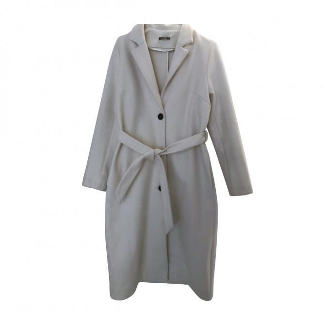 DIXIE FIRENZE ITALY WHITE COAT