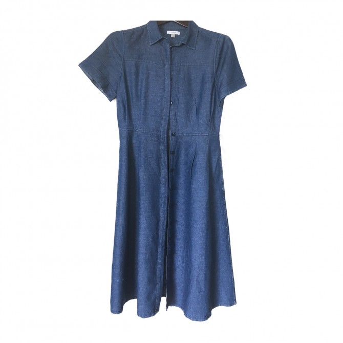 J Crew denim shirt dress