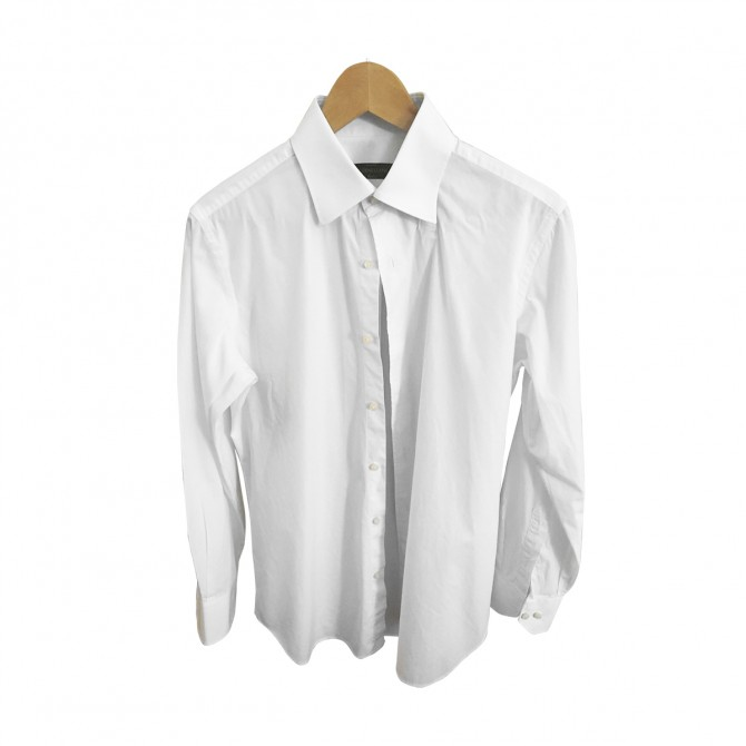 CORNELIANI WHITE MENS SHIRT