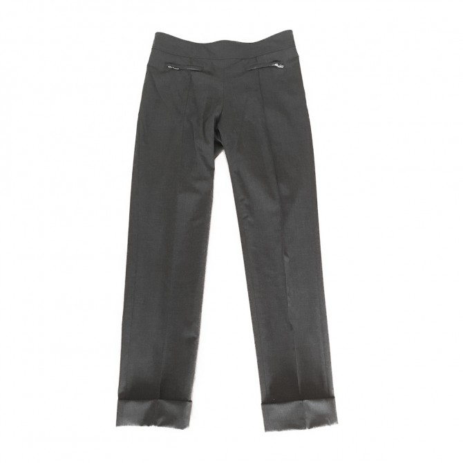 BOGNER grey slim fit tousers