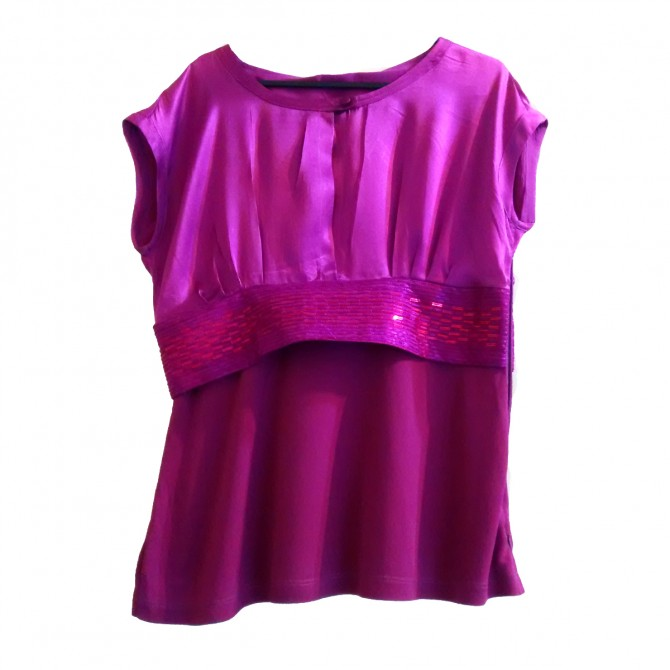 Gianfranco Ferre silk top