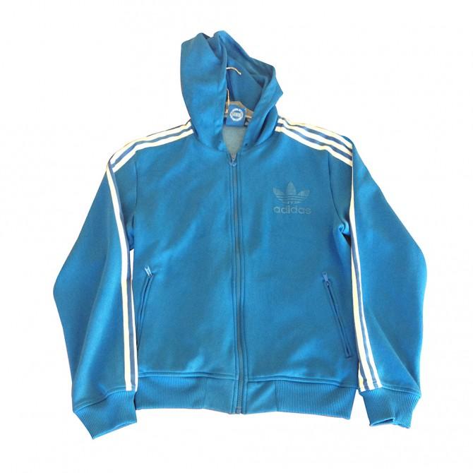 ADIDAS ORIGINAL BLUE JACKET