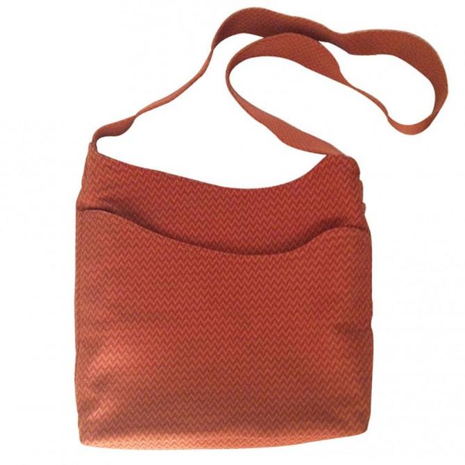 HERMES fabric bag