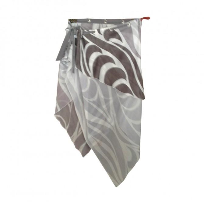 Prada beachwear skirt pareo style