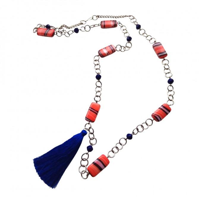 Handmade necklace Terpsichore's secret