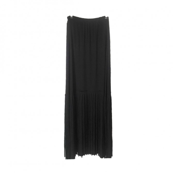 MiRo strapless black dress