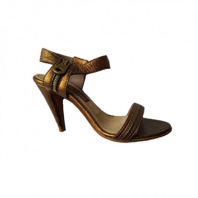 Marc by Marc Jacobs bronze sandals size IT 39 or US 9